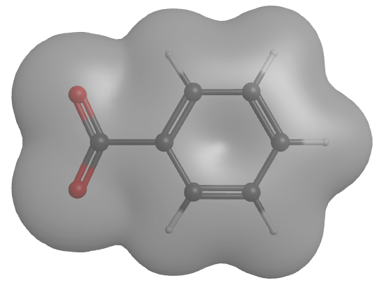 Benzoate Ion Electron Density