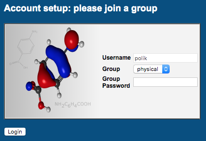 Join Group example