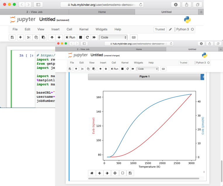 Jupyter screenshot